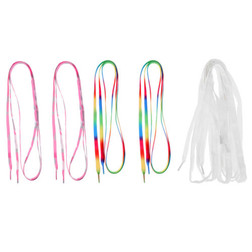 3 Pairs Skates Shoe Laces Shoelaces for Ice Hockey Skates Roller Boots 6ft