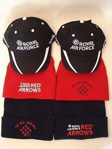 ff3e9558532 ROYAL AIR FORCE RED ARROWS CAP   SKI HAT - CHOICE OF 6 - OFFICIAL ...
