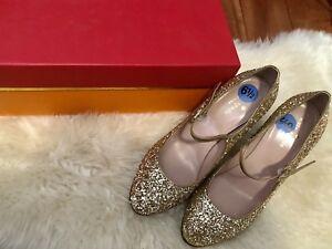 3fbb1aa221d4 Kate Spade New York Angelique Platino Sequin Mary Jane Heels Pump ...