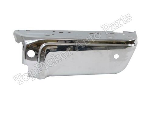 FOR 08-15 FORD SUPER DUTY REAR STEP BUMPER EXTENSION OUTER CAP CHROME W//HOLE RH