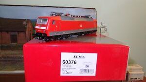 Acme 60376 120 141-7 Db Ag Livrée Rouge Trafic, 4 Porteuse Avant, Uic