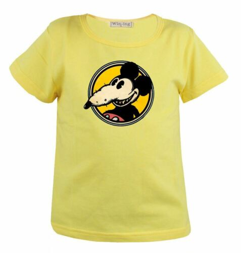 Disney Mickey Rat Funny Parody Mouse Pattern Kid Gift Long Short Sleeve T-Shirt