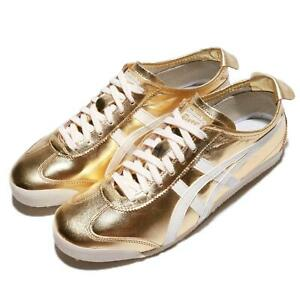 Asics-Onitsuka-Tiger-Mexico-66-Gold-White-Men-Casual-Shoes-Sneakers-THL7C2-9401