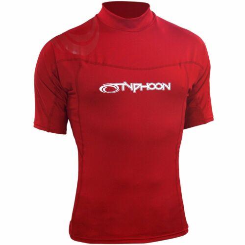 For Kayaking// Sailing// Canoeing Typhoon Mens Short Sleeve Rash Vest UV50