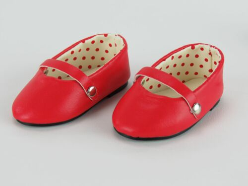 """Doll Clothes 18/"""" Shoes Red Ballet Dress Fits American Girl Dolls"""
