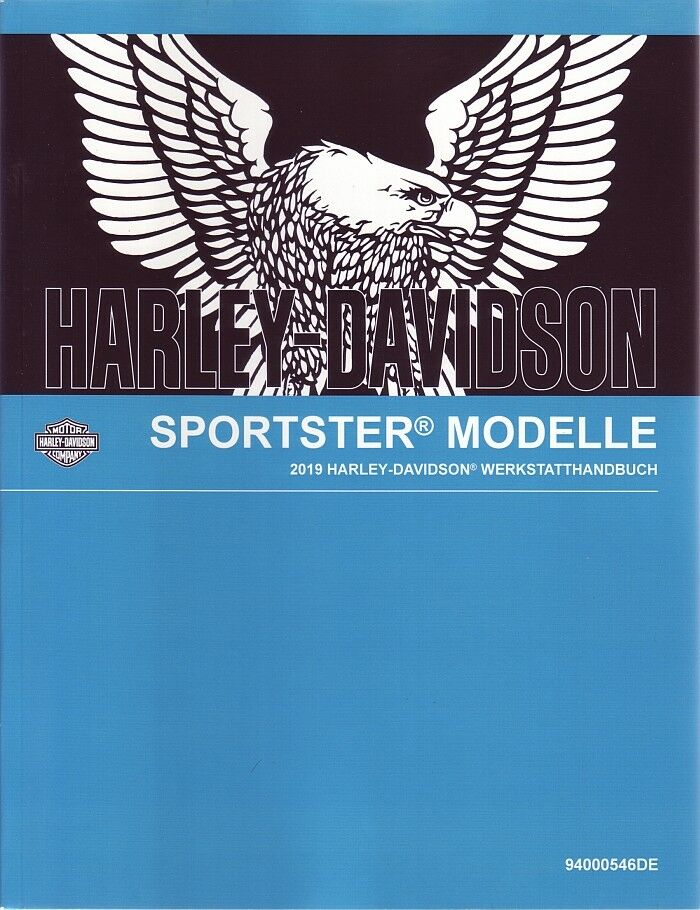 HARLEY Werkstatthandbuch 2019 XL 1200T Sportster SuperLow DEUTSCH Buch Anleitung