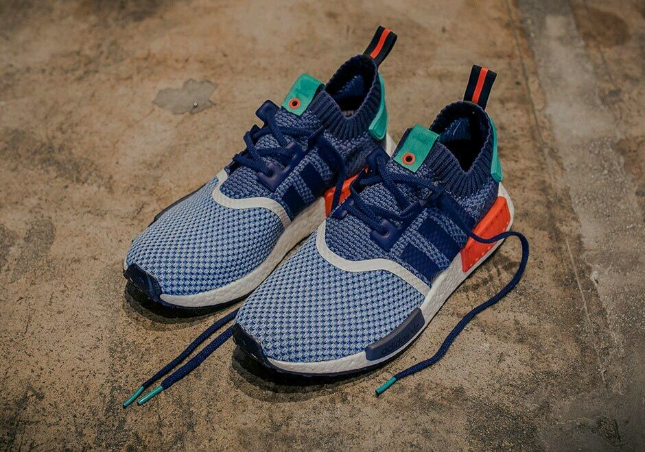 Packer Shoes x Adidas Consortium NMD_R1 Primeknit US Uomo Size 7.5 100% Authentic