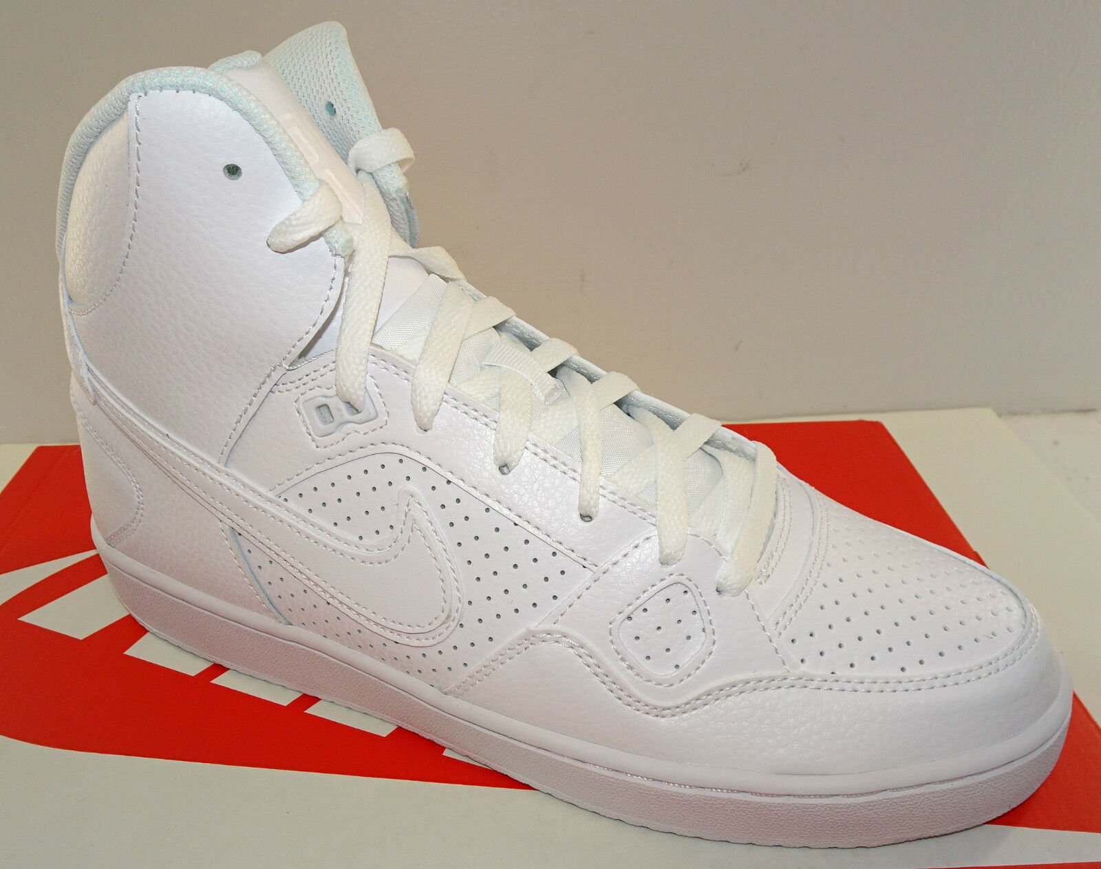 NIKE Son Of Force Mid Men's Athletic Shoe  616281-102   White   NEW  Seasonal price cuts, discount benefits