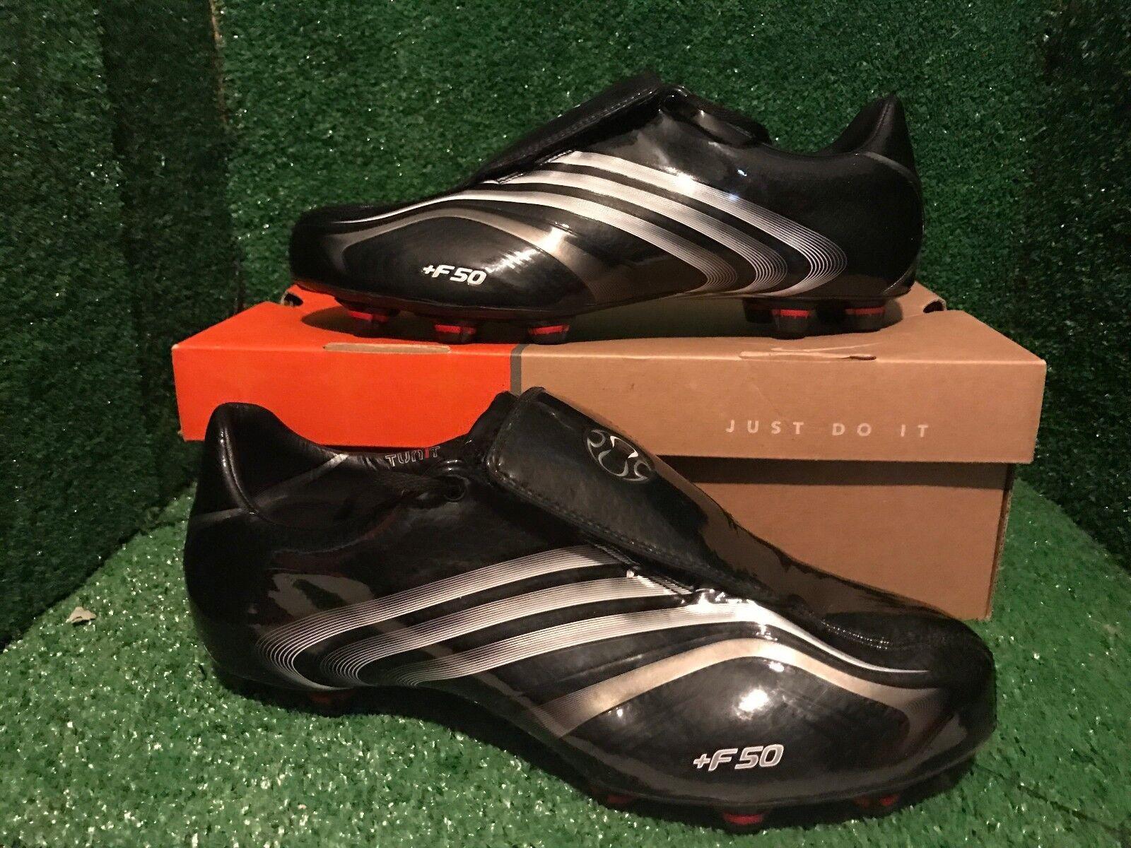 Lote  Negro Botines De Fútbol Adidas +F50.8 Tunit de EE. UU. 8,5 42 2 3 f50