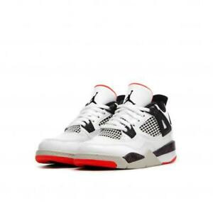 63918bed3e66 JORDAN 4 RETRO (PS) PRESCHOOL US SIZE 1 Y STYLE   BQ7669-116 ...