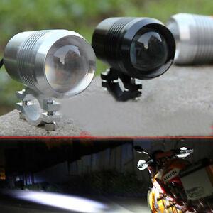 Motorcycle-12V-30W-XML-U2-LED-Fog-Spot-Head-Light-Waterproof-Working-Lamp-WM