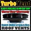 4x4-Veicolo-Van-Vento-guidato-basso-profilo-ARIA-rotativo-Tetto-Vent-Bianco-Land-Rover miniatura 3