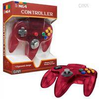 Cirka N64 Wired Controller (watermelon) For Nintendo 64