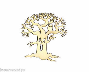 Spooky-Hollow-Tree-Unfinished-Flat-Wood-Shape-Cut-Outs-HT90041-Variety-Sizes