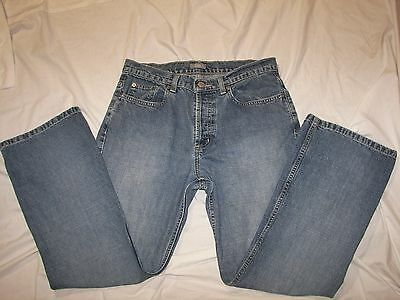 Clothing, Shoes & Accessories Size 10 X 29 G.h.bass Button Fly Jeans