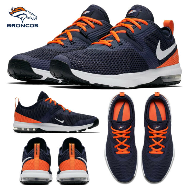 Trainer 2 Air Denver Nike Shoes NFL Size 10 Limited Typha Broncos Sneakers Max FK1c3lTJ
