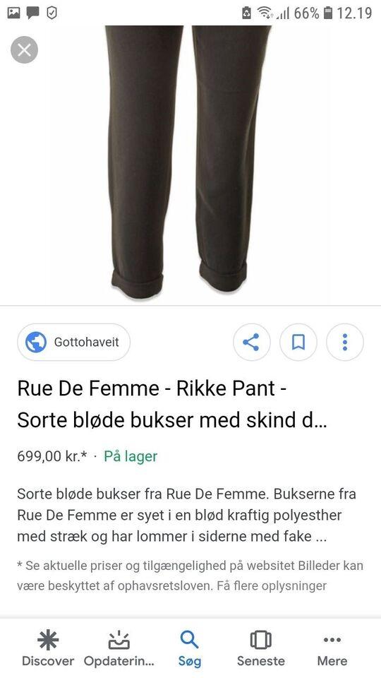 Bukser, Rue de femme, str. 42 – dba.dk – Køb og Salg af Nyt