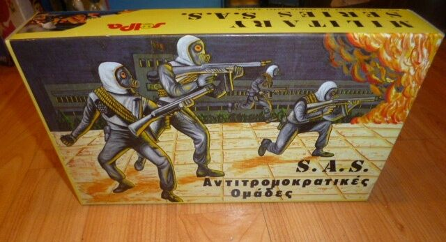 SOLDIERS- SERIES MILITARY SOLPA GREEK AMAZING S A S TOY