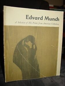 Edvard Munch: A Selection of His Prints from American Collections 1957