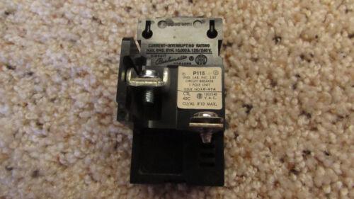 ITE Pushmatic 15 Amp Breaker P115