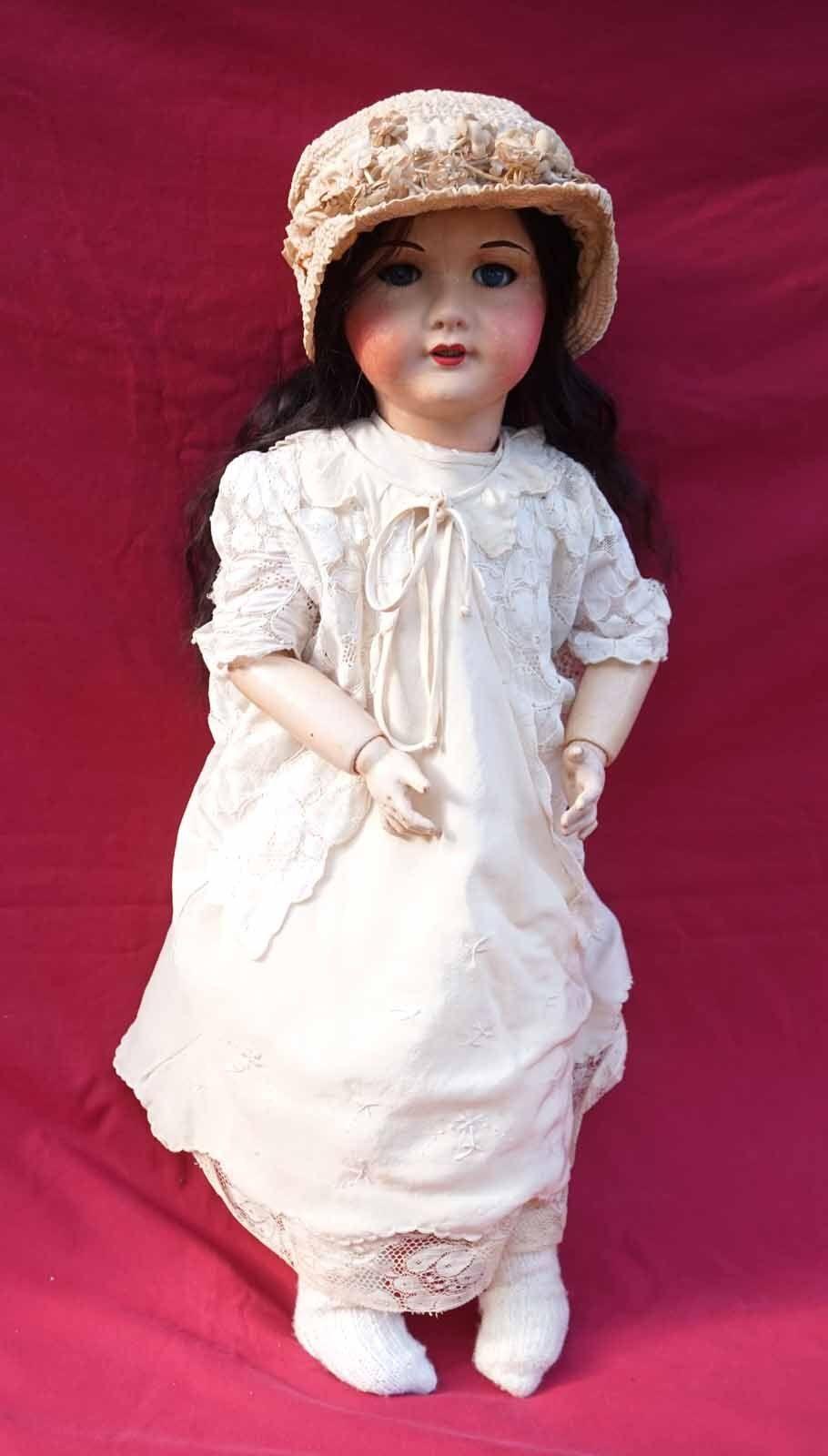 Tall 24  Compo Doll Sleep Eyes SFBJ Size 12 Model 71 France