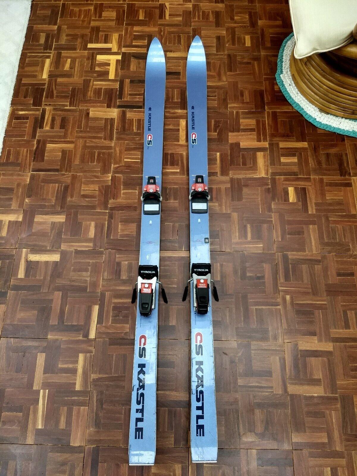 Kastle CS Polo Skis 160cm With Tyrolia  180 Bindings  save up to 50%