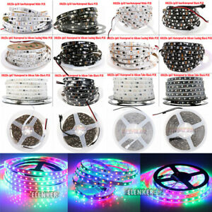 WS2811 5050 RGB Dream Color 5M 30/60 LED Strip Light 12V Individual Addressable