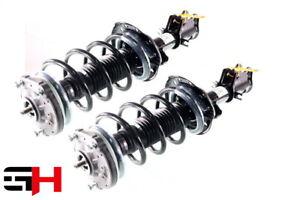 2x Complete Shock Absorber Strut Set Front Fiat Fiorino 1.3D Multijet Off 2007