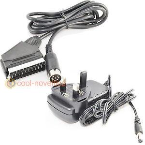 AMSTRAD CPC 464 & 6128 + (PLUS MODELS) TV CONNECTION KIT - PSU ...