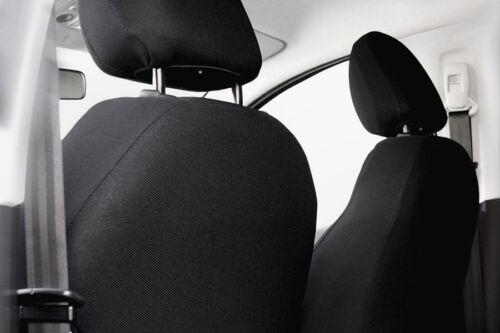Sitzbezüge Sitzbezug Schonbezüge für Toyota Auris Schwarz Modern MG-1 Set