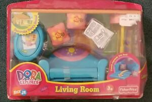 Awe Inspiring Details About Dora The Explorer Talking Dollhouse Furniture Living Room Sofa Couch Machost Co Dining Chair Design Ideas Machostcouk