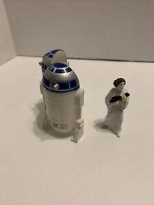 1996 Lucas Films Star Wars R2-D2 & Princess Leia Inside Figure