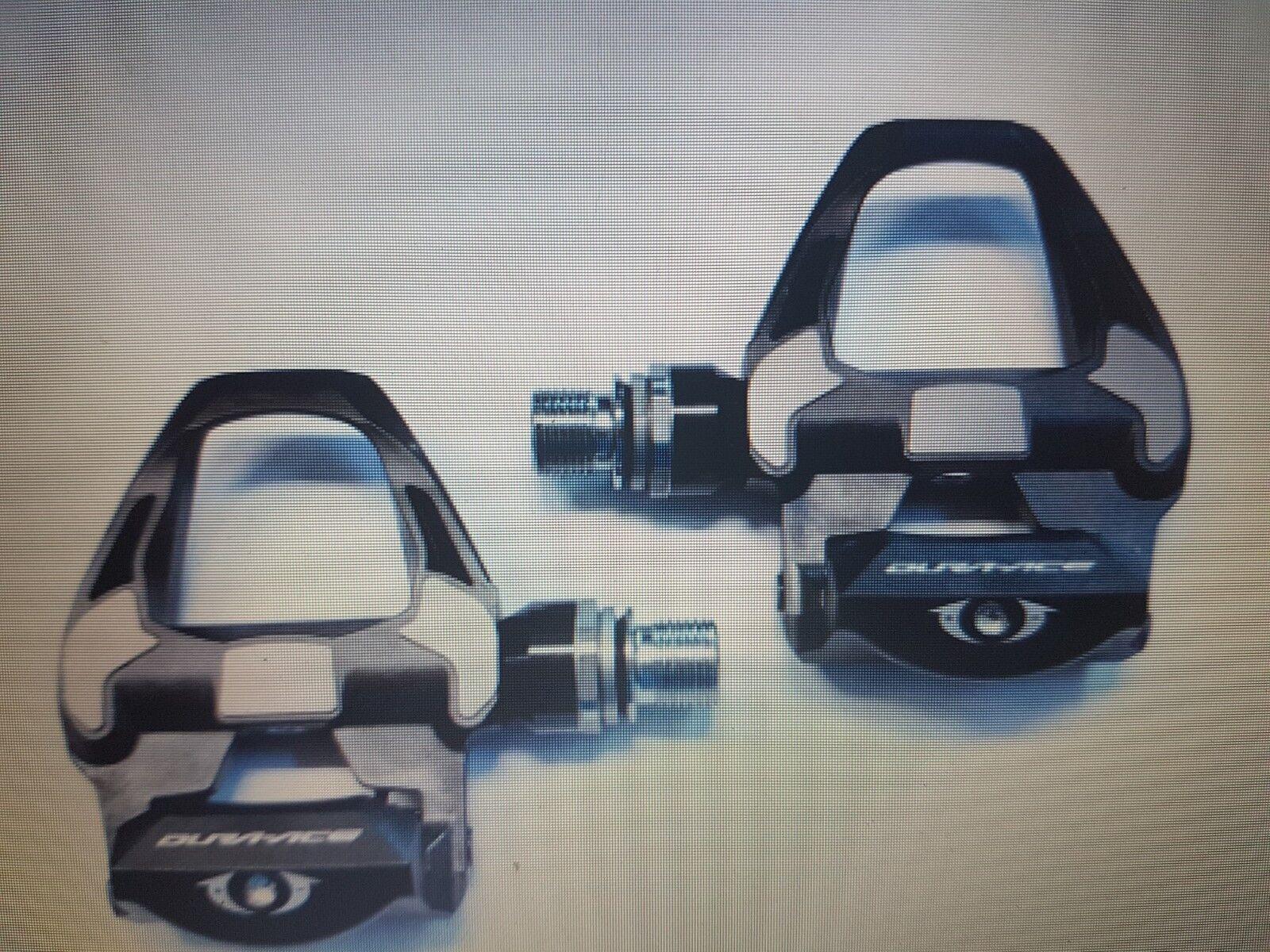 Pedali shiamano dura ace pd r9100 sl carbon in box con tacchette