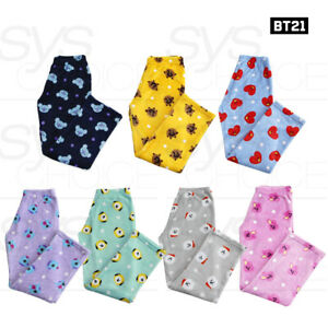 BTS-BT21-Official-Authentic-Goods-Sleep-Pants-Tracking-Number