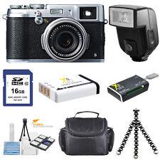 Fujifilm X100S Digital Camera with Flash!! Deluxe Bundle Kit!! Brand New!!