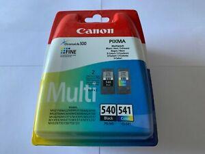 pack cartouche canon 540 noire et 541 couleurs neuf sous blister