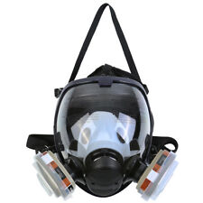 Facepiece Respirator Gas Mask 15in1 Full Face Spraying Painting Safety Reusable