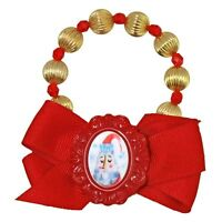Tarina Tarantino Santa Claus home For Christmas Bow Bracelet -60% Off