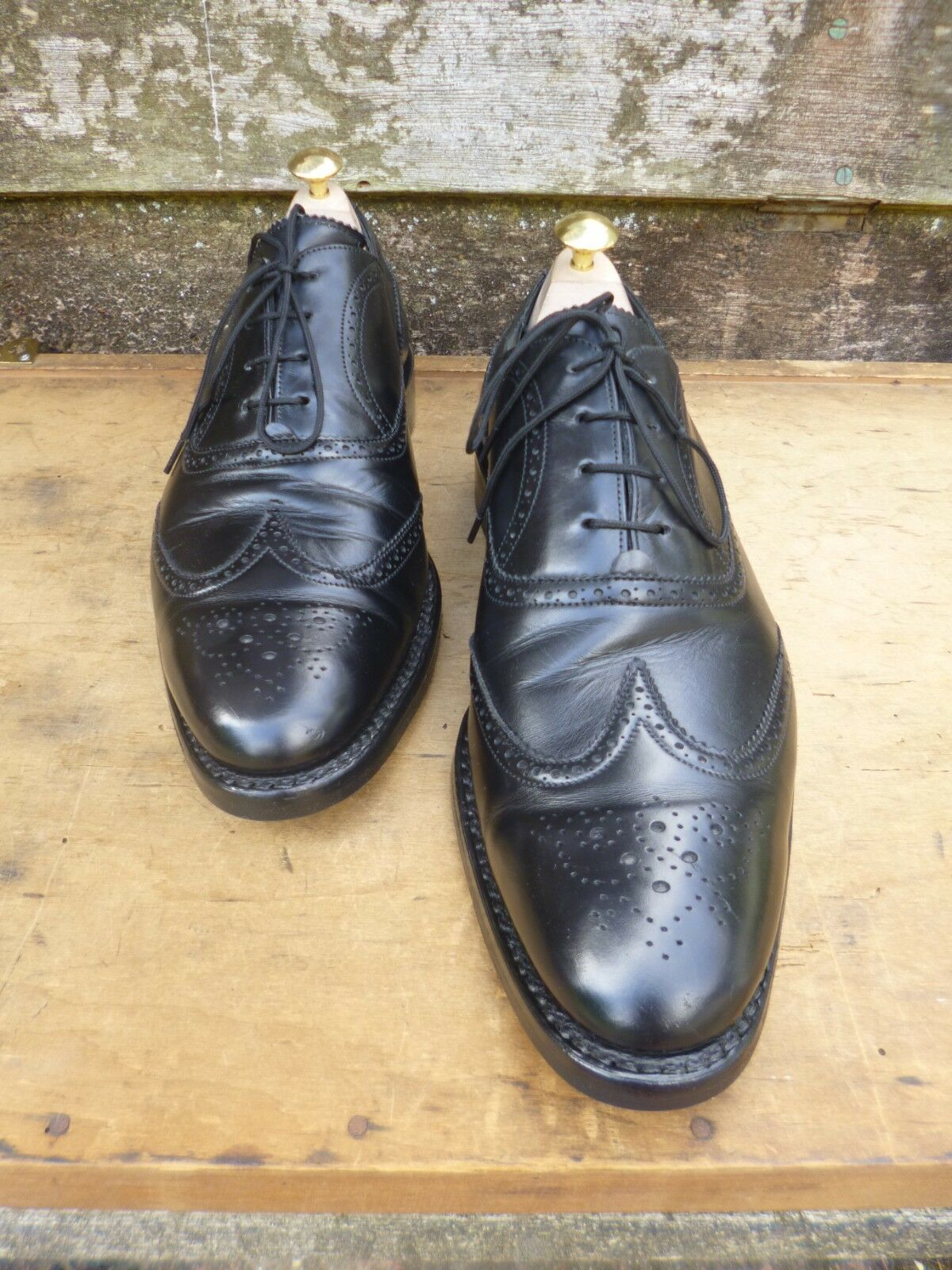 CHEANEY / – CHURCH BROGUES – BLACK – / UK 9.5 – GLADSTONE – EXCELLENT CONDITION bc24ee