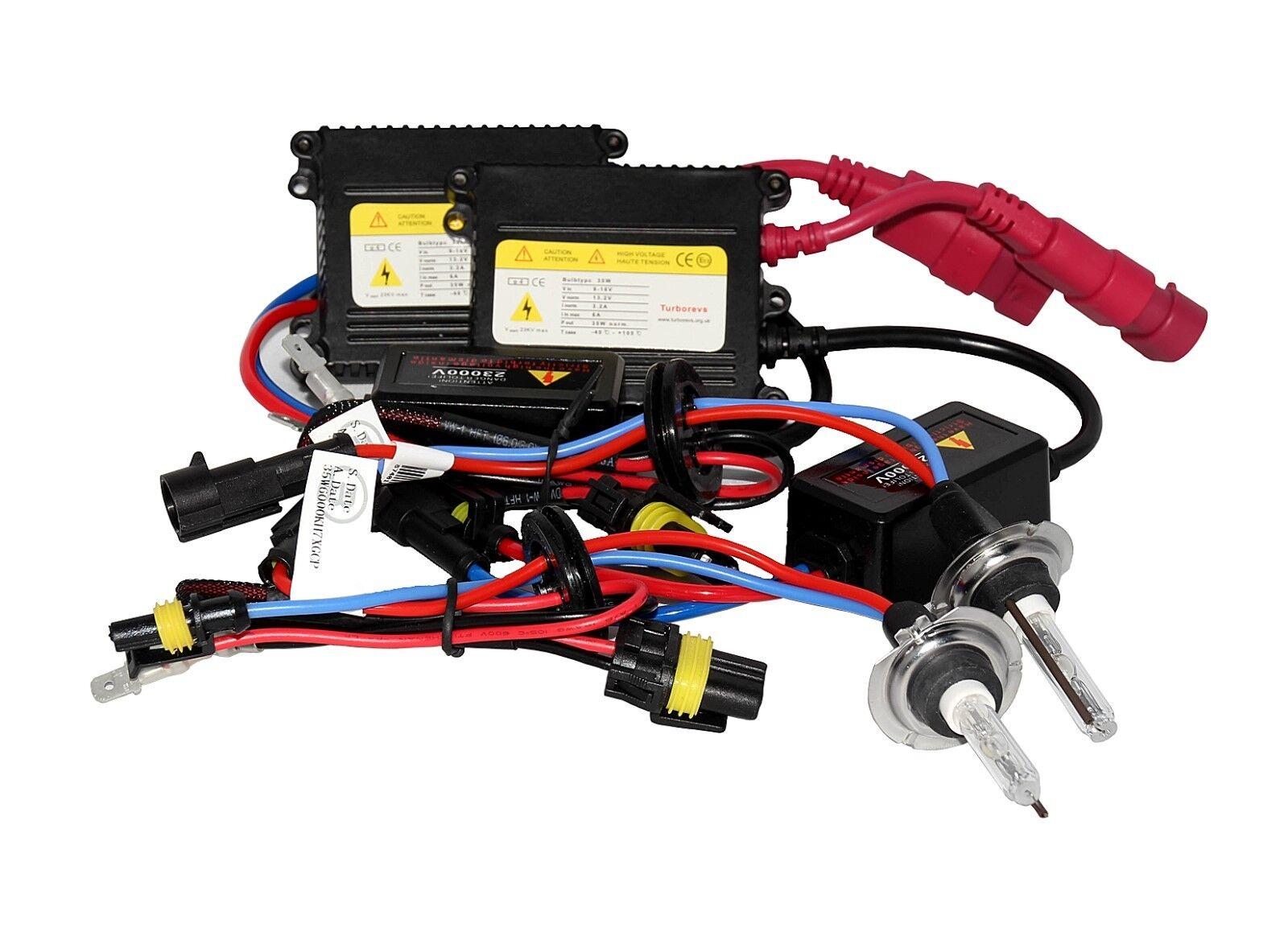 Peugeot 206 406 206cc 306 Cc Hid Xenon Conversion Light Kit H7 Ac Ebay Wiring System