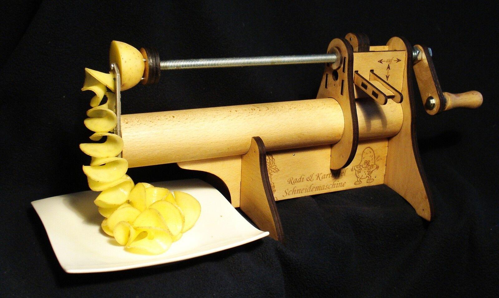 Radischneider, Spiral, Kartoffelschneider, Rettichschneider. Potato Slicer