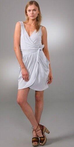 Marc by Marc Jacobs Lakeisha Jersey Wrap Tank Dress XS 0 2 US