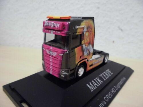 "PC-modèle 110976-1:87 HERPA-SCANIA cs20 HD Solo-tracteur /""Maik Terpe/"""