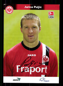 Sammeln & Seltenes Fußball, National Jurica Puljiz Autogrammkarte Eintracht Frankfurt 2005-06 Original Sign+a 149091 VerrüCkter Preis