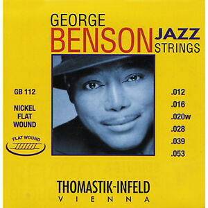 Thomastik-GB112-Medium-Light-George-Benson-Custom-Flatwound-Guitar-Strings