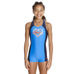 Image is loading SPEEDO-GIRLS-SWIMSUIT-FIZZ-EXPRESS-BLUE-LEGSUIT-LEG-  sc 1 st  eBay : swimming costume for girls  - Germanpascual.Com