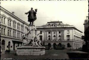SZEGED-in-UNGARN-Kossuth-Denkmal-AK-Postkarte-Postcard-Ansichtskarte-ungelaufen