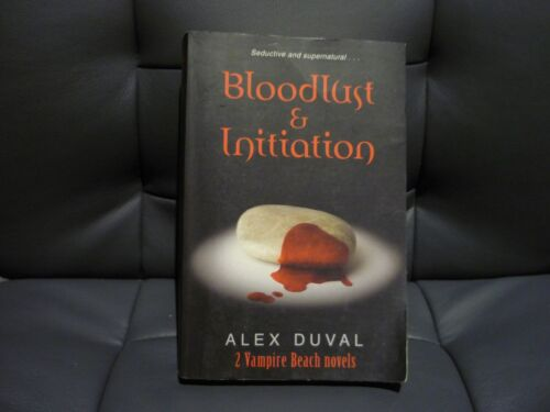 1 of 1 - 2in1 ALEX DUVAL VAMPIRE BEACH NOVELS - BLOODLUST & INITIATION - COMBINE POSTAGE