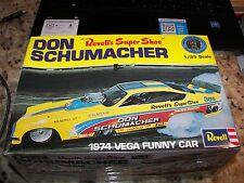 Revell Don Schumacher 1974 Vega Funny Car - 1:25 Scale Model Kit - NEW & SEALED