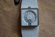 Lip 187 12 42 Men's/Unisex Mythic White Dial Leather Band Quartz Watch